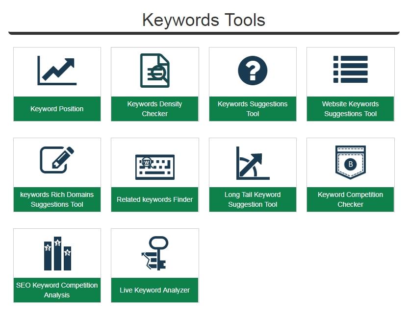 keeyword tool - smallseotools