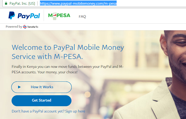 Paypal to Mpesa direct