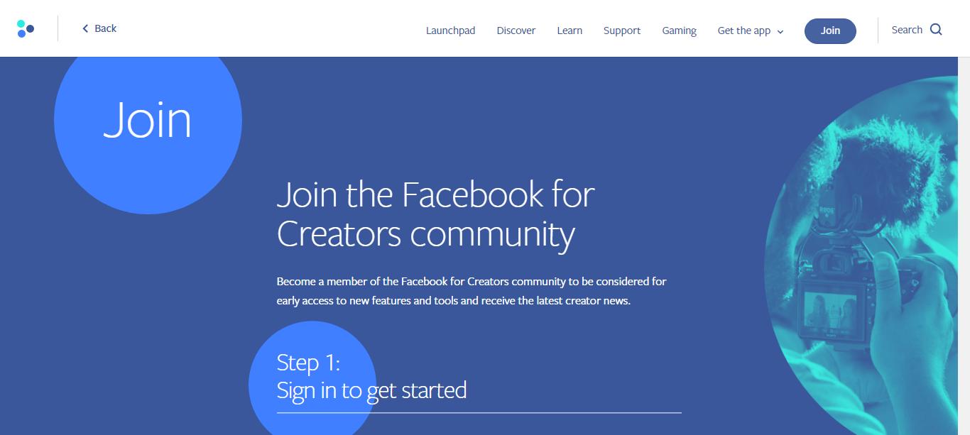 facebook for creators