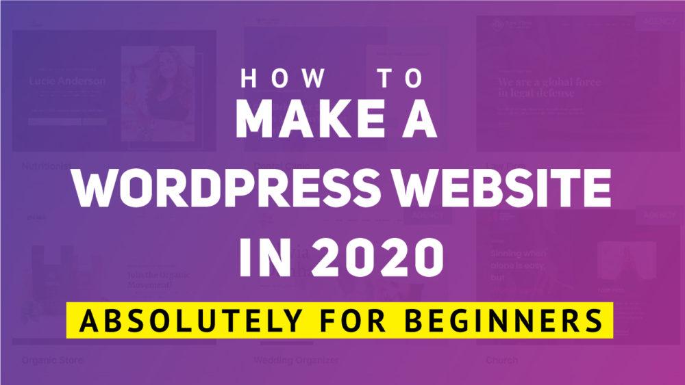How-to-make-a-wordpress-website