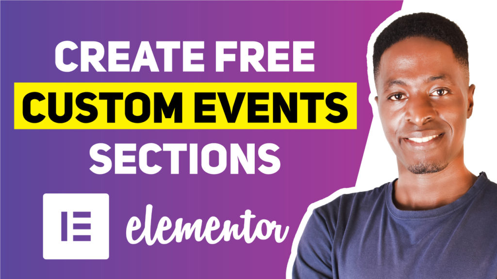 Create-free-custom-events-section