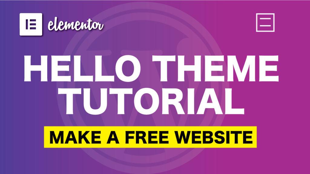 Hello-theme-tutorial