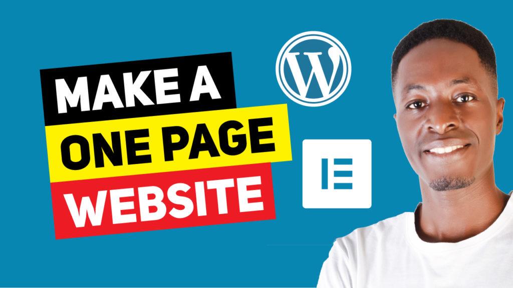 One-Page-WordPress-Site