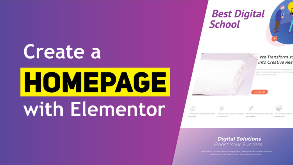how-to-create-a-homepage-using-elementor
